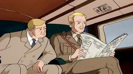 تصویر از Cartoon Blake and Mortimer – Part 2