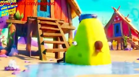 تصویر از The first official trailer for Sponge Bob 2020: Sponge Bob is fleeing